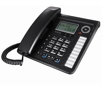 aa56062f3fd890 Alcatel Temporis 700 Pro Téléphone analogique Filaire Touche microcasque  Noir