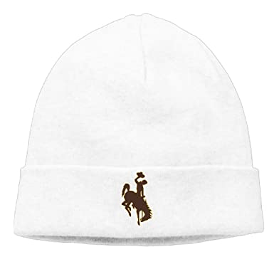 University Of Wyoming Skull Cap Beanie Hat at Amazon Men's