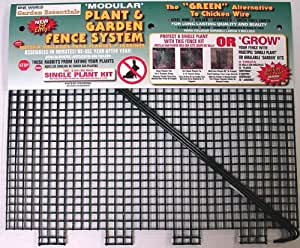 """One World 'Modular' Plant and Garden Fence System - 15"""" Single Kit"""