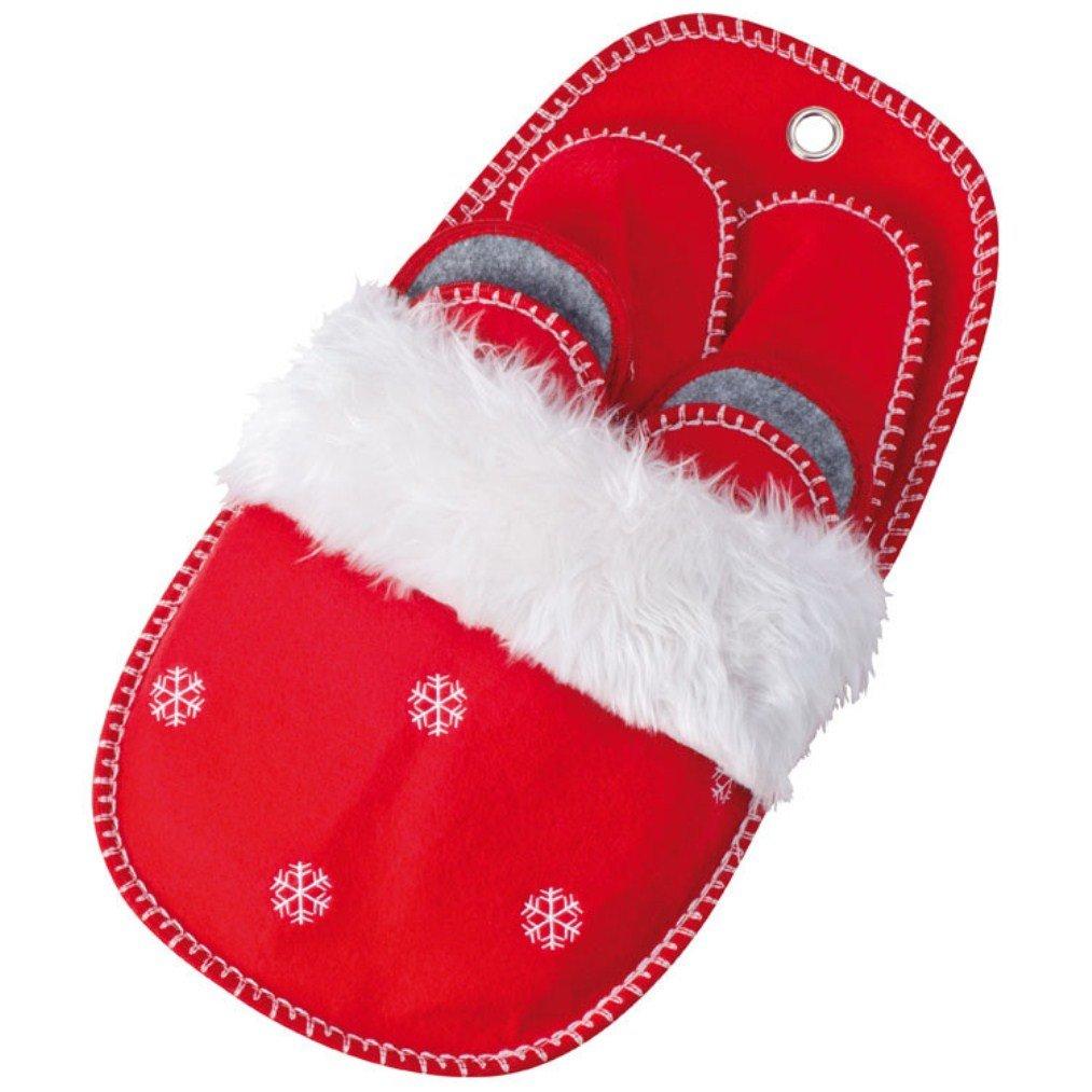 noTrash2003 Weihnachts Hausschuhe - Pantoffeln im 4er Set in 3 ...