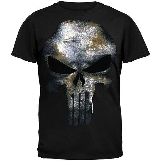 99b80cd3b099a Marvel The Punisher Men's No Sweat T-Shirt