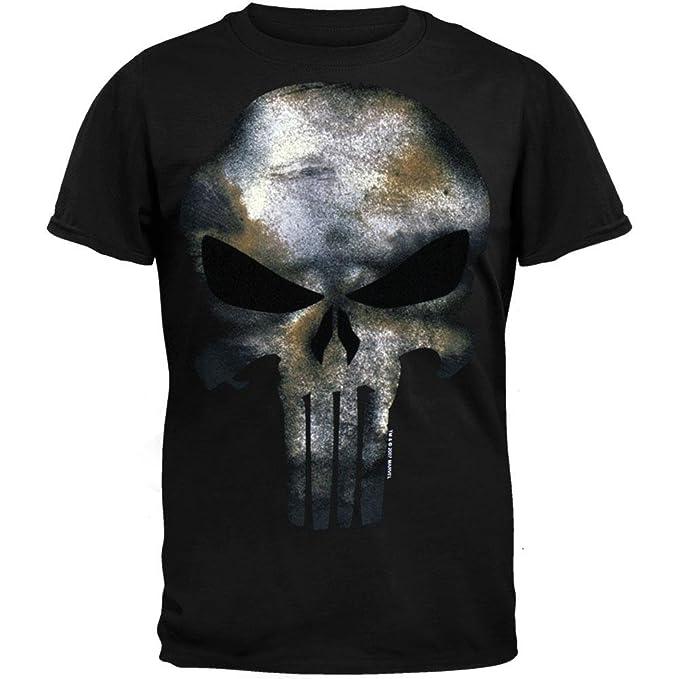 cd1a59e39 Marvel The Punisher Men's No Sweat T-Shirt