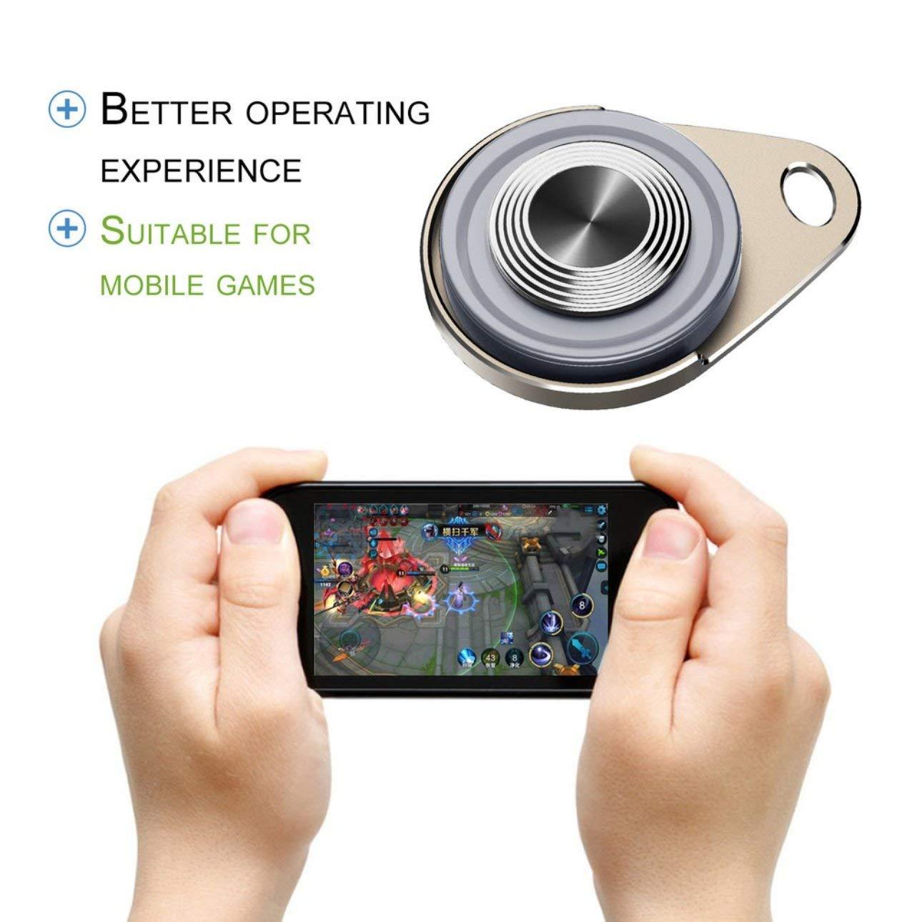 Ballylelly-Touch Screen-Saugnapf-Spiel-Controller Sucker Joystick Smartphone Tablet