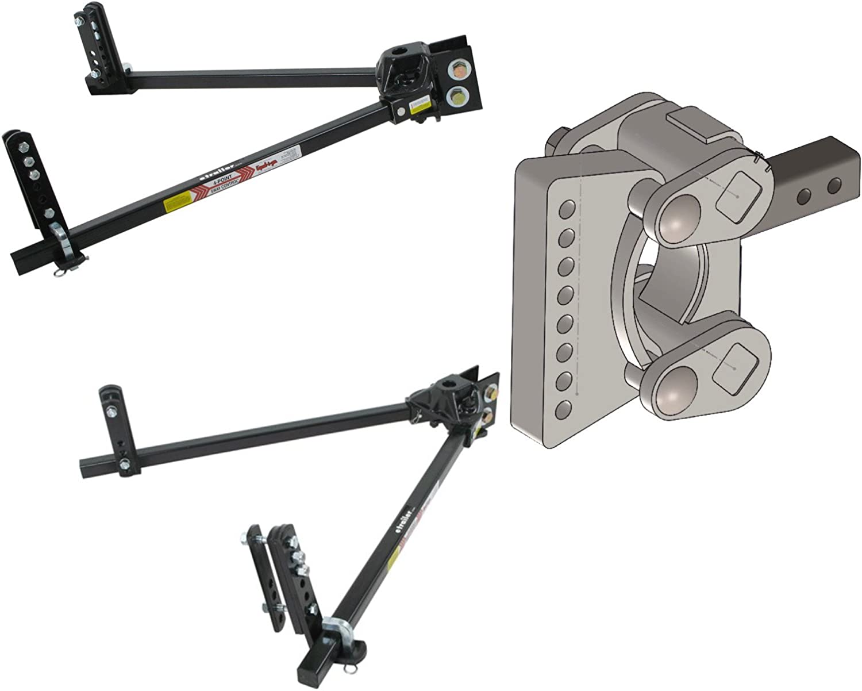 2.5 Pintle Plate Torsion with Adjustable Bolt on Pintle Plate GEN-Y Drop Torsion Suspension Hitch GH-1301 21K 2.5 Receiver