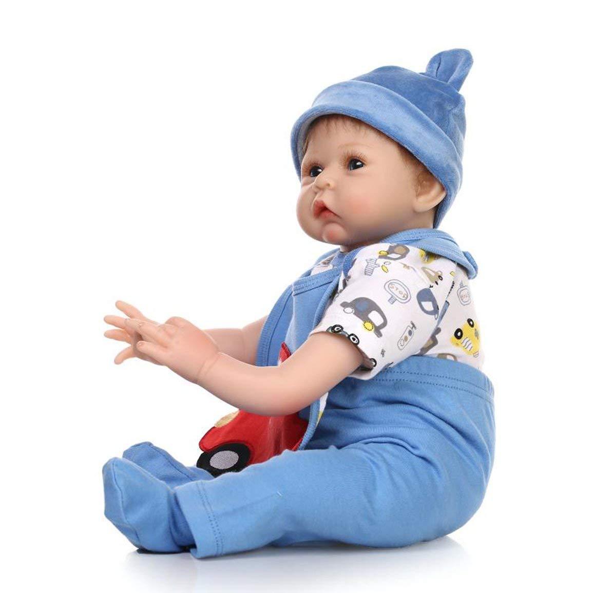 hasta un 65% de descuento Fantasyworld Fantasyworld Fantasyworld 55CM Silicona Renacido Las muñecas del bebé Vivo Realista Mohair Real muñecas realistas Bebe Bebés Reborn Juega el Regalo de cumpleaños  lo último