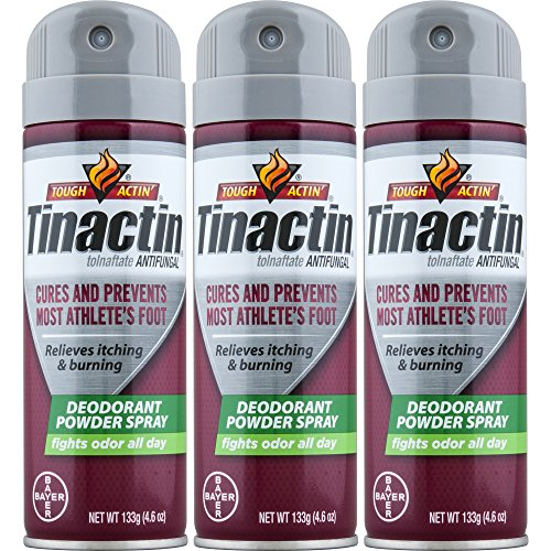 Tinactin Athletes Foot Deo Spray Powder (Pack of 3)