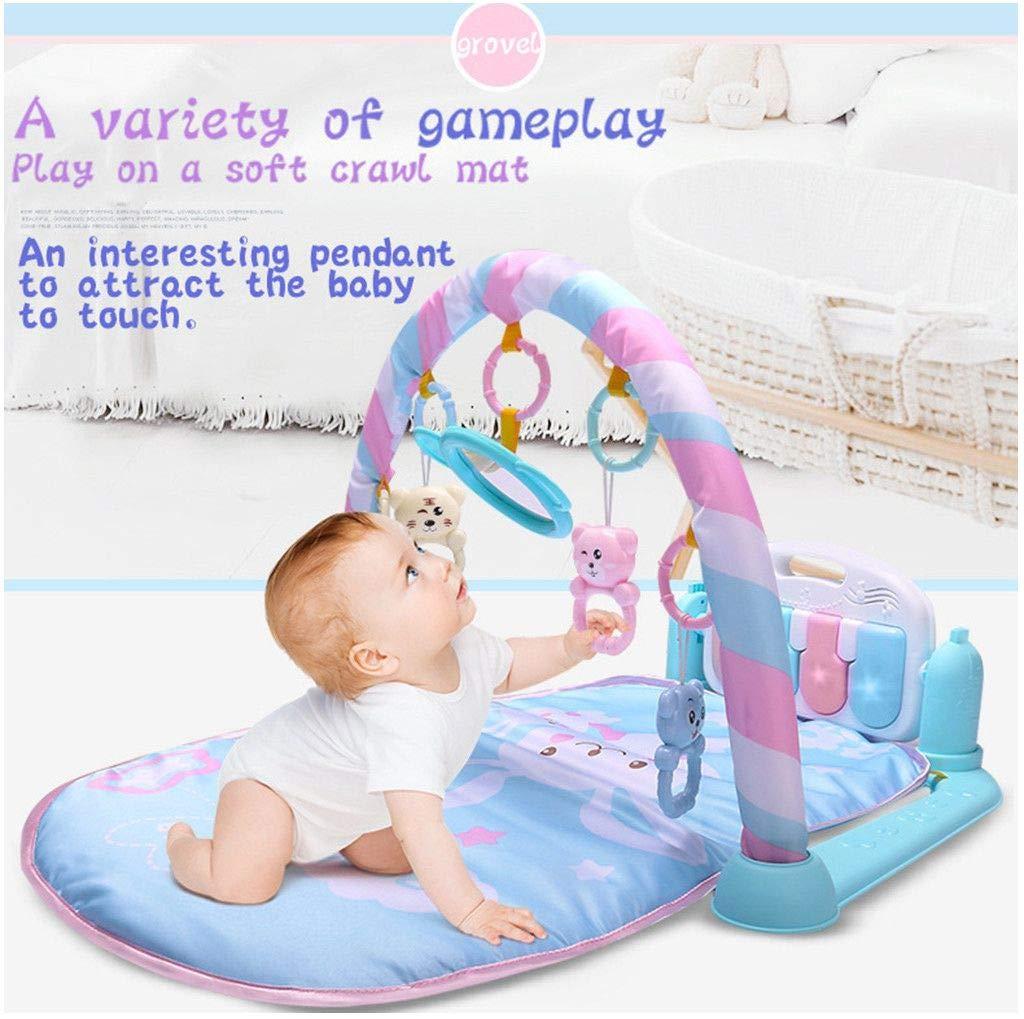 Amazon.com: Alfombra de juegos 3 en 1 para bebés y niños ...