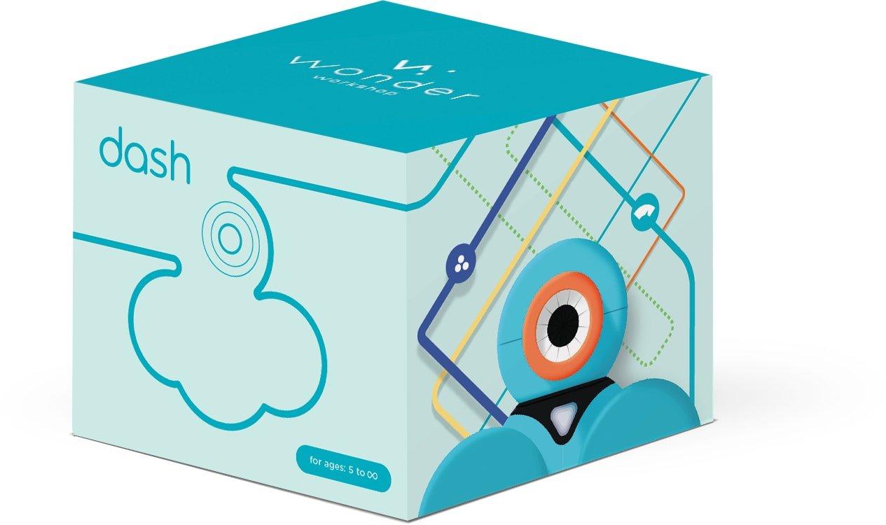 Wonder Workshop Dash - Coding Robot for Kids 6+ - Voice Activated - Navigates Objects - 5 Free Programming STEM Apps - Creating Confident Digital Citizens by Wonder Workshop