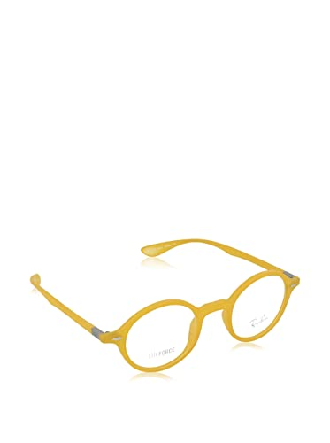 6c820962af6 Amazon.com  Ray-Ban Vista RX7069 5519 Eyeglasses Opal Matte Yellow ...