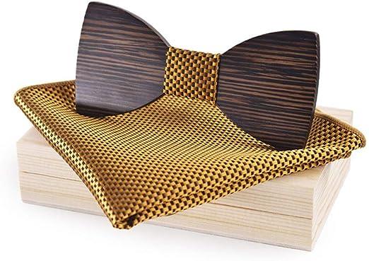 XIAOLULU Corbata de Cuello Formal para Hombre Paquete de Caja ...