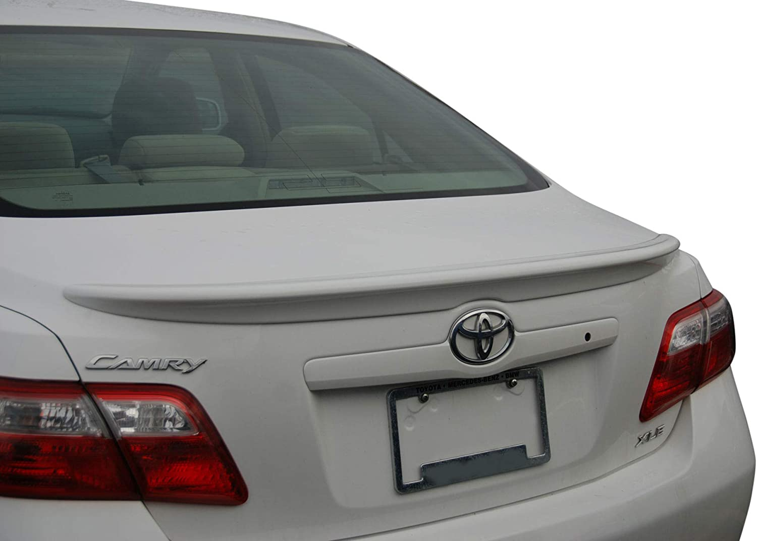 Factory Style Spoiler made for the Toyota Camry Painted in the Factory Paint Code of Your Choice 513 218 with 3M tape included