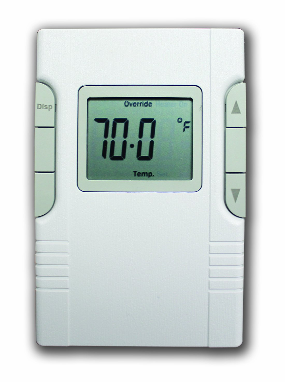 King ECR Electronic LineVoltage Thermostat White Programmable – King Thermostat Wiring Diagram