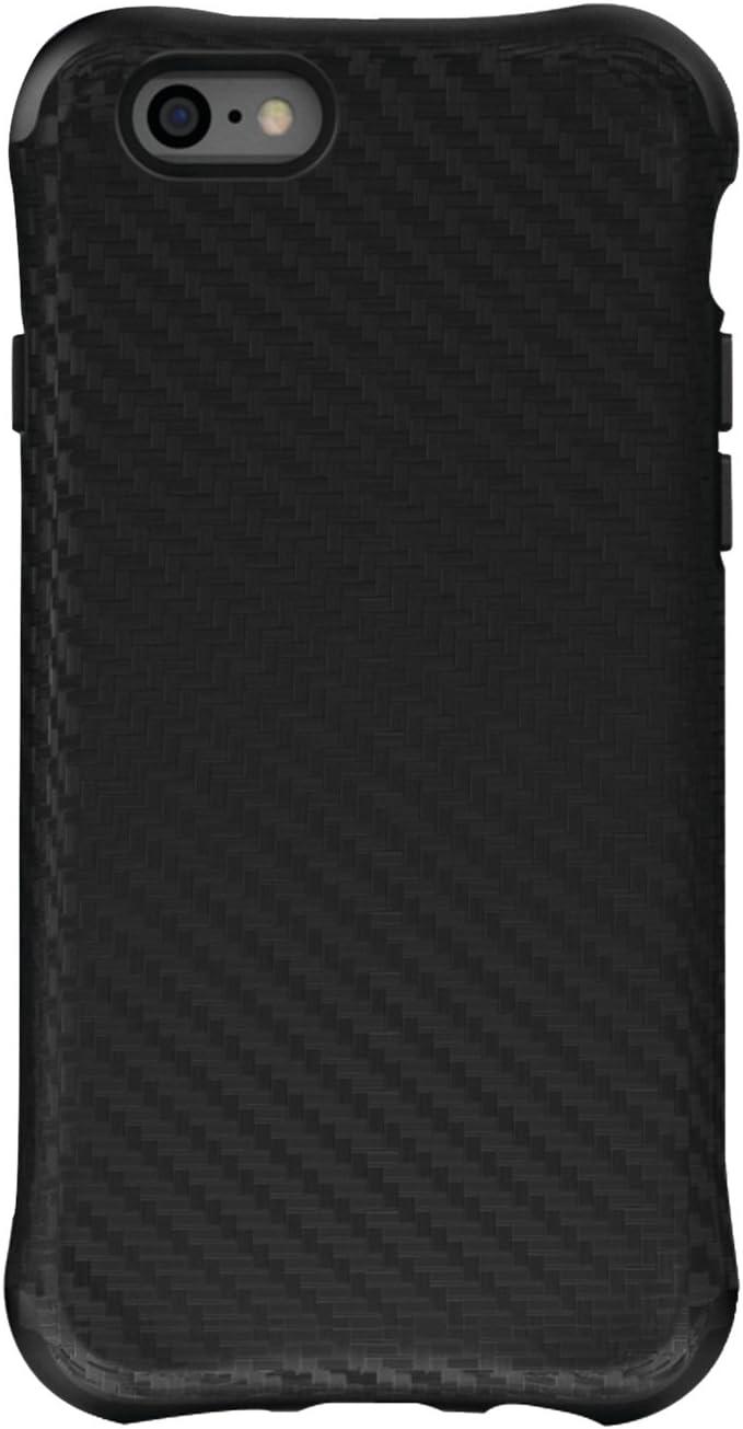 BALLISTIC Urbanite Series Case for Apple iPhone 6 / iPhone 6s - Retail Packaging - Black Carbon Fiber