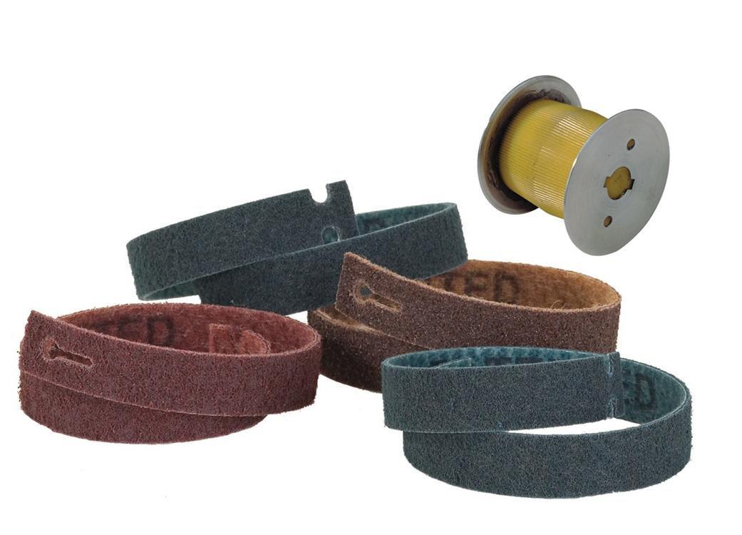 26 Long x 1.2 Wide Superfine Open Grey CS Unitec 49007 PTX Fleece Nonwoven Belts
