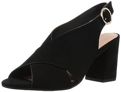 0953e8cf82 Taryn Rose Women's Lenora Heeled Sandal, Black, 7 M Medium US