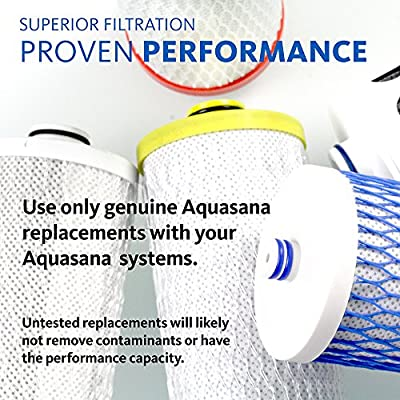 Aquasana Replacement Cartridge for Clean Water Machine Powered Water Filtration System