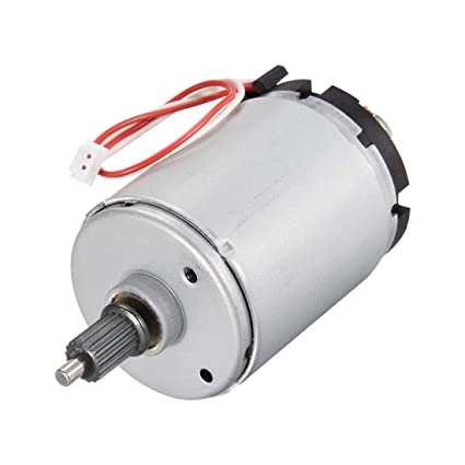 uxcell DC Motor 15 8V 2900RPM 0 09A 2 Wires Electric Motor Round Shaft for  RC Boat Toys Model DIY Hobby