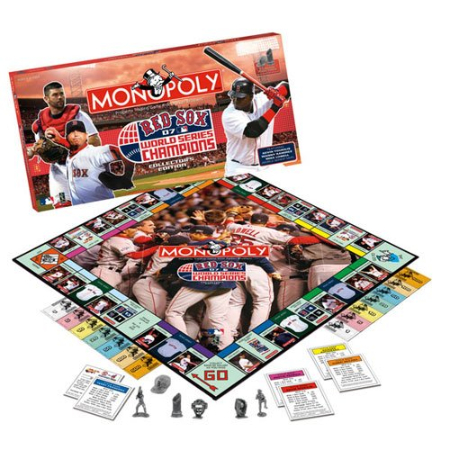 Boston Red Sox 2007 World Series Champions Monopoly - 2007 Soccer Jersey