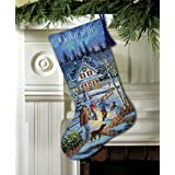 Dimensions D08805 Christmas Eve Fun Christmas Stocking Counted Cross Stitch Kit