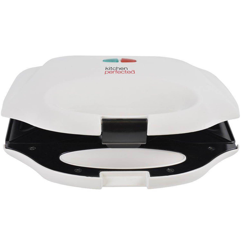 KitchenPerfected 2 Slice Sandwich & Omelette Maker - Ivory White Lloytron E2602WI
