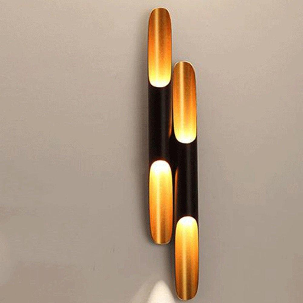 ウォールランプ工業用壁ライト竹壁ライト工業用風北欧アルミニウムレストランコーヒーショップコリドールアイルLEDウォールライト220v E27装飾的な壁ライト (色 : A) B07DGCRQBG 18891  A