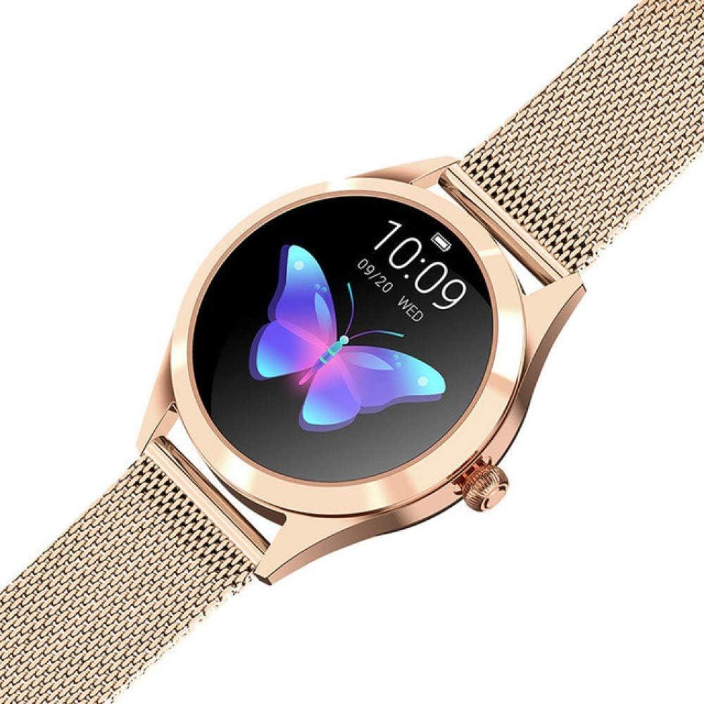 SJUTALR Relojes Deportivos,Reloj Inteligente Bluetooth para Mujer IP68 Impermeable Recordatorio fisiológico Frecuencia cardíaca 1.04 Pulgadas Reloj Inteligente con Pantalla a Color
