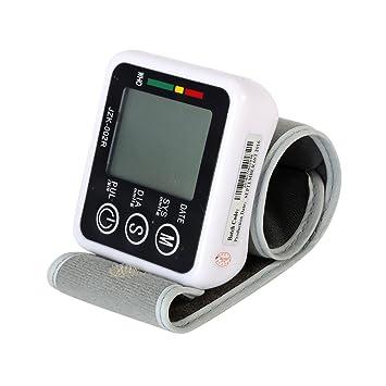 prettyuk - Tensiómetro automático muñeca Digital - Medidor de presión sanguínea muñecas de esfigmomanómetro para el cuidado de salud: Amazon.es: Salud y ...