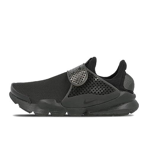 online store b5243 6db09 Nike Womens Sock Dart SE Running Trainers 862412 Sneakers Shoes (US 8,  Black Black Volt 004)