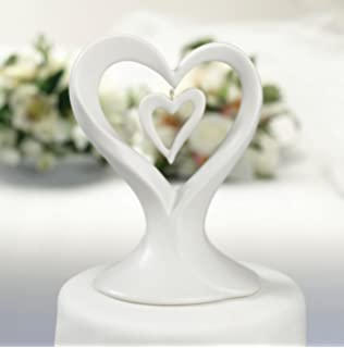 Amazoncom Mikasa Love Story Porcelain Cake Topper With Gift Box - Mikasa Wedding Cake Topper