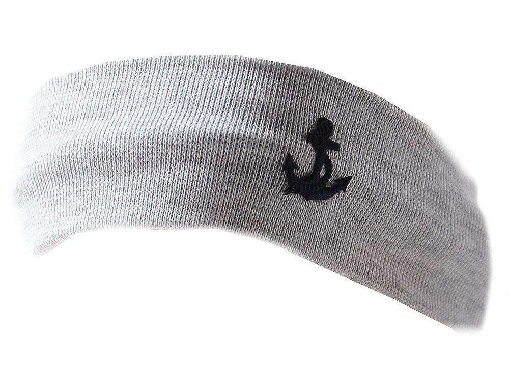 Baby Kinder Haarband Stirnband Hairband Junge Grau La Bortini HGM005