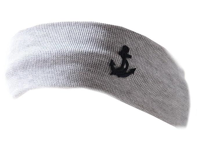 a8b669cd70fb1d Baby Kinder Haarband Stirnband Hairband Junge Grau La Bortini (KU 35-43cm.)