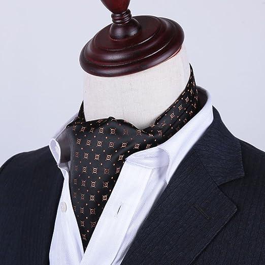 LIXIONG Corbata Bufanda Doble Cara Camisa Hombres Bufanda Toalla ...