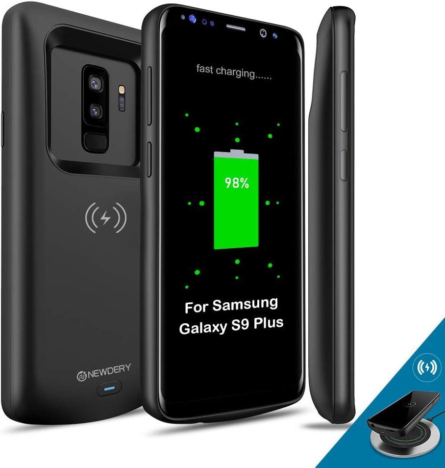 Samsung Galaxy S9 Plus Carcasa de batería Qi Compatible con carga ...