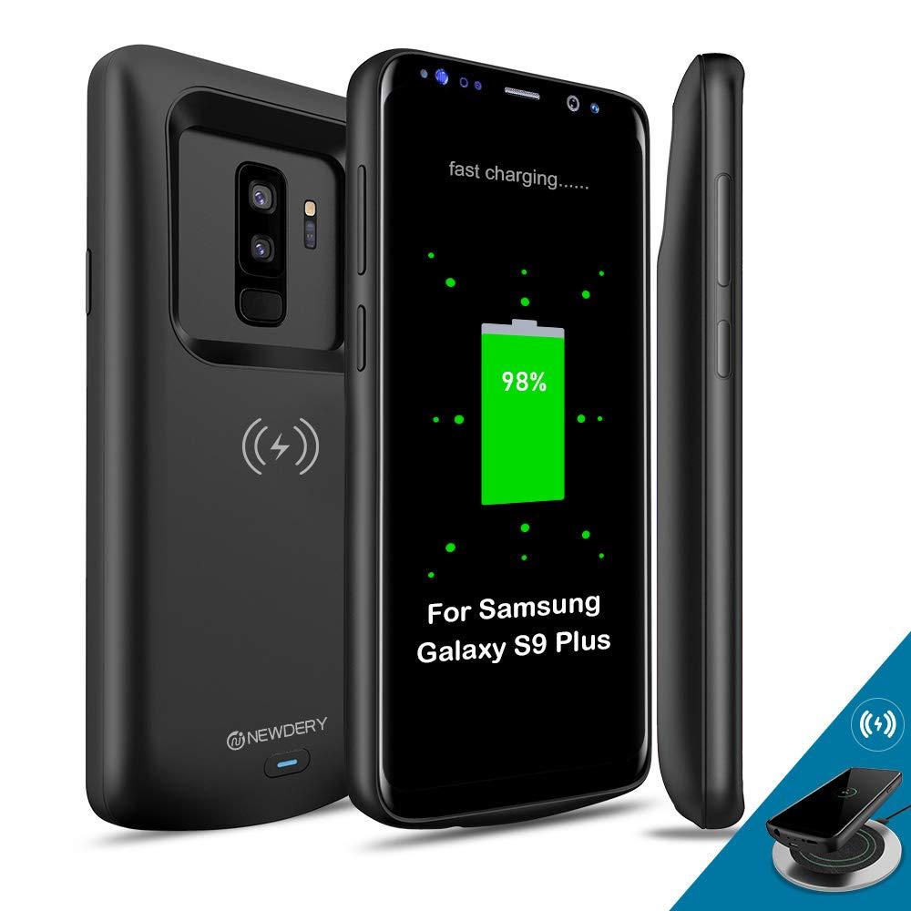 Funda Con Bateria de 5200mah para Samsung Galaxy S9 Plus NEWDERY [7DCSPKJQ]