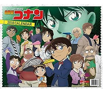 Detective Conan Case Closed Anime Calendar 2018 Offizieller Wandkalender Japan