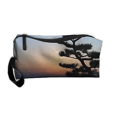 d8721d986e0a new Makeup Bags For Women Cosmetic Case With Zipper Bonsai Tree ...