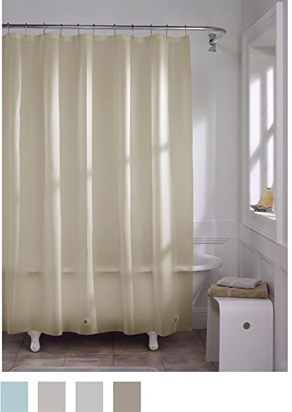 Maytex Mildew Free Odorless No PVC Softy Shower Curtain Liner 70 Inches X 72