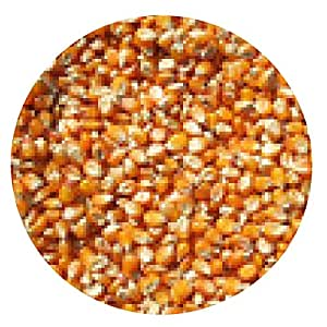 alfombrilla de ratón granos de maíz amarillo - ronda - 20cm