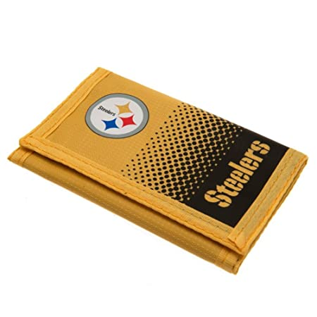 Pittsburgh Steelers Dinero Monedero Nylon Wallet FD Oficial ...