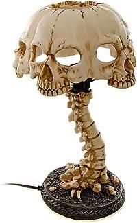 lampe table tête de mort 1