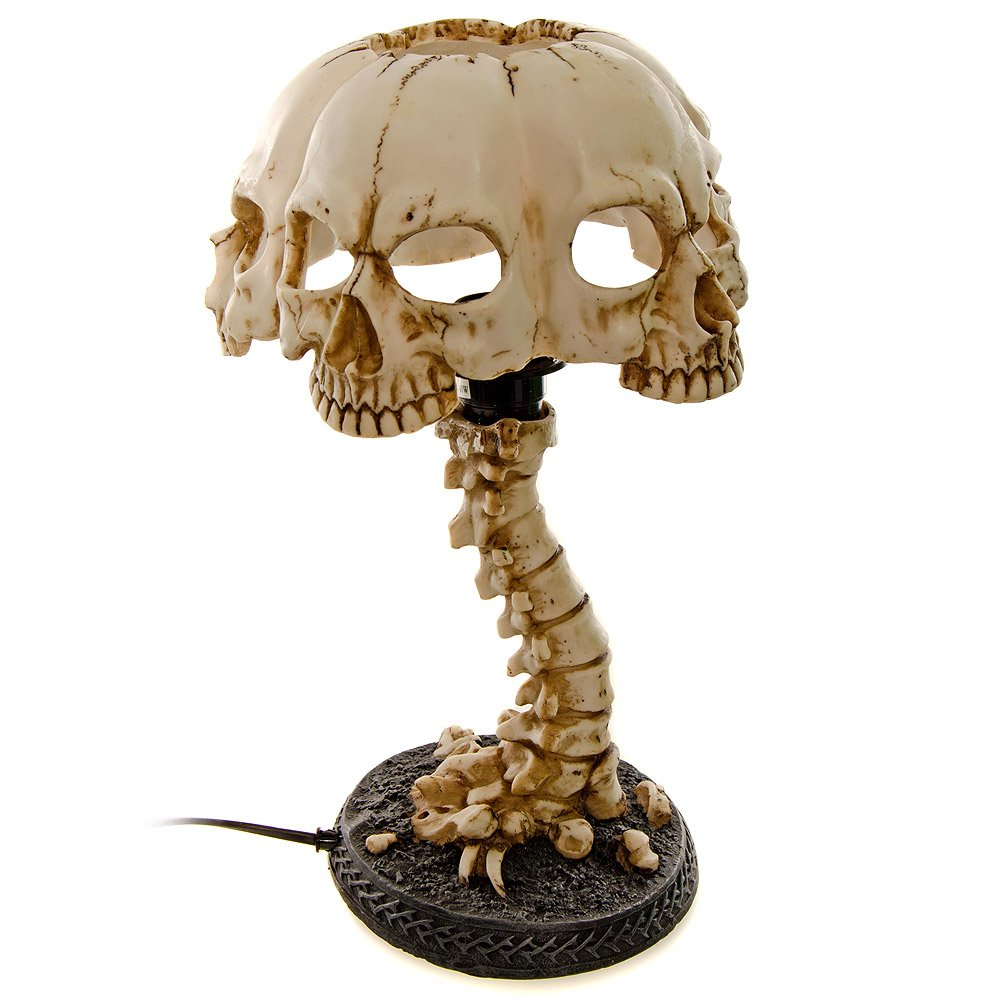 Atrocity Skull Desk Light - 37.5cm: Amazon.co.uk: Lighting