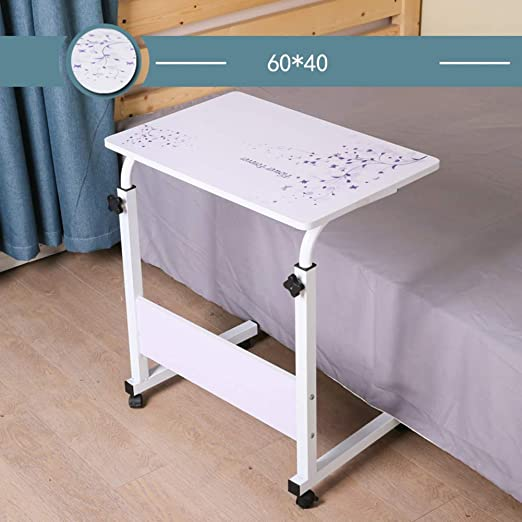 JiaQi Movible Overbed Tableregulable Altura Tabla del Ordenador ...