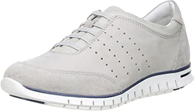 Minu Damen Sneaker Echtleder Echtleder Sneaker Grau  Amazon   Schuhe & Handtaschen aabc14