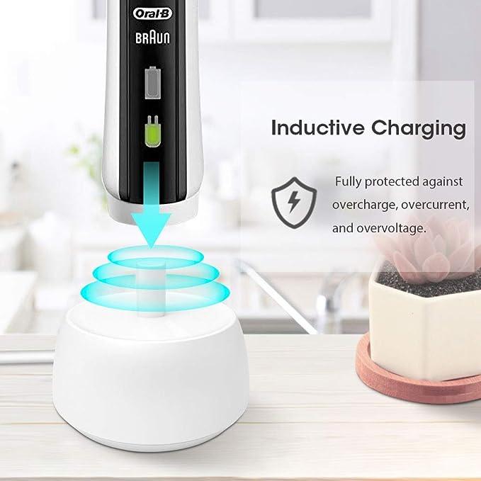 Cargador usb Youmang para cepillo de dientes eléctrico, compatible con oral- b, Base de carga inductiva portátil para viajes: Amazon.es: Salud y cuidado ...