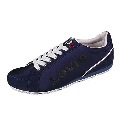 2c72410f Levis 224499 Morris Herren Sneaker Dark Turquoise Size: 6.5: Amazon ...