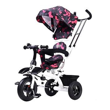 DACHUI Los niños Triciclo bebé, Bicicleta, Moto, Carrito de ...