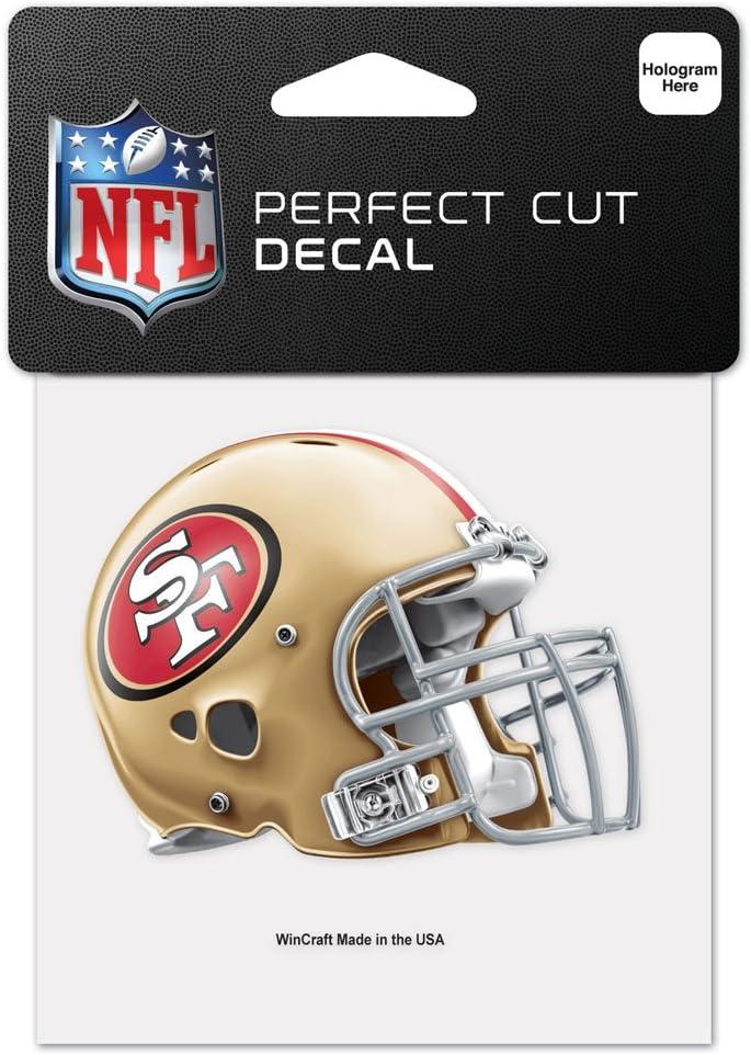San Francisco 49ers Perfect Cut Color Decal 4x4