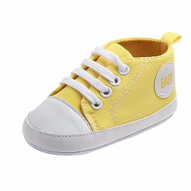 YanHoo Zapatos de Lona para niños y niñas Zapatos Suaves Antideslizantes Zapatos para niños pequeños Zapatos Deportivos Zapatos Casuales para niños Zapatos ...