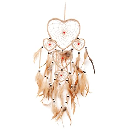 SLB Works Dream Catcher With Feathers Large Following Small Heart Extraordinary Dream Catcher Works