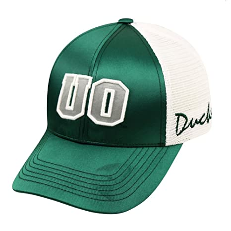 hot sales 46c36 17d2f Image Unavailable. Image not available for. Color  Women s University of Oregon  Ducks Satina Adjustable Cap